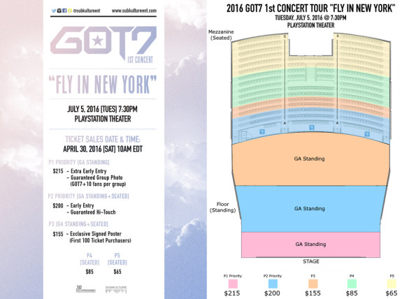 GOT Fly In USA Tour Seating Charts Ticket Links ADATB - The wiltern seating chart